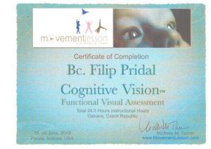 Kognitivní zrak a pohyb, seminář